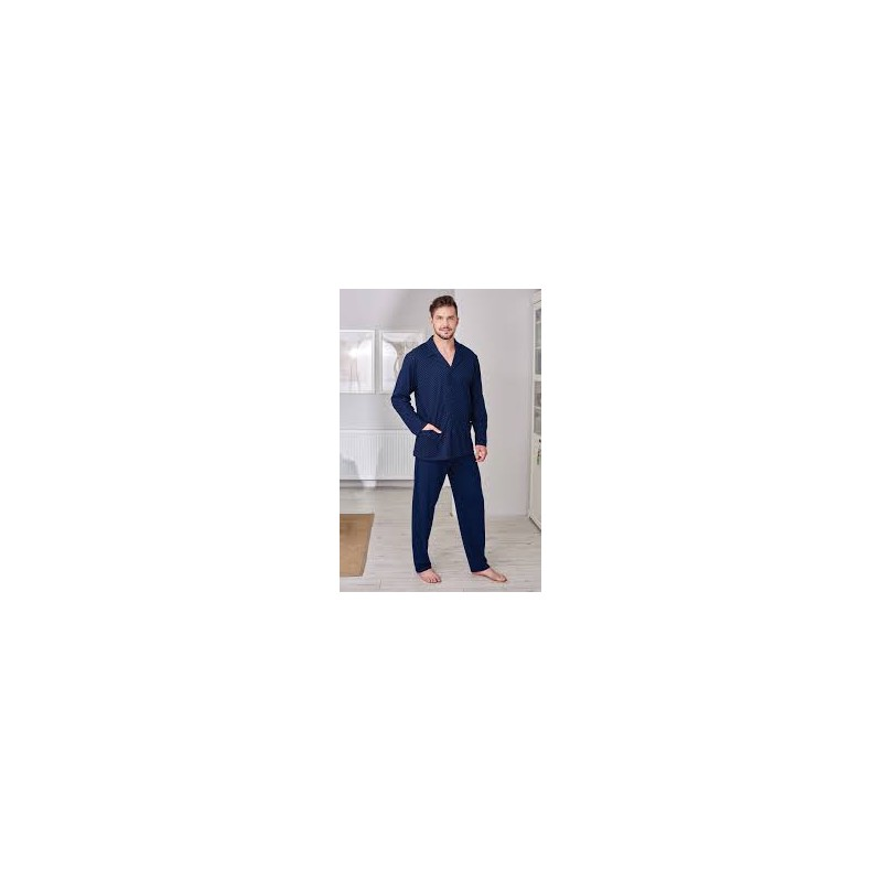 608690610bb1 Regina 265 piżama męska rozpinana - Talia